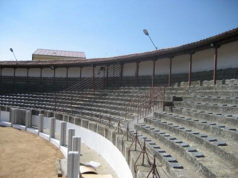 Plaza de Toros de Guijuelo. Foto archivo.
