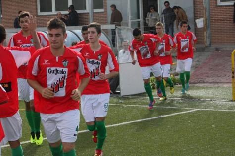 Jugadores del C.D. Guijuelo. Foto archivo
