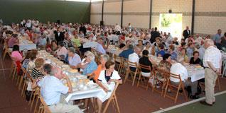 Comida homenaje a los mayores en Guijuelo. Foto lagaceta