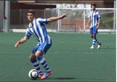 Granados con el Espanyol. Foto fuerzaperica.com