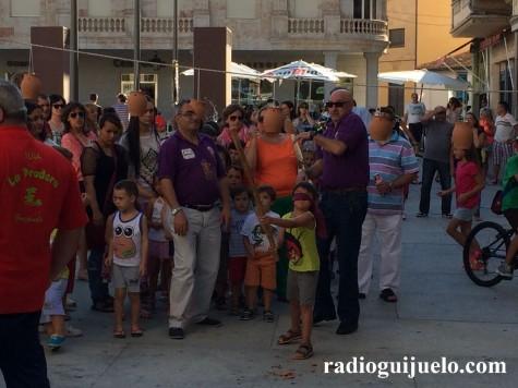 Juegos de La Pradera en la Plaza Mayor. Foto archivo.