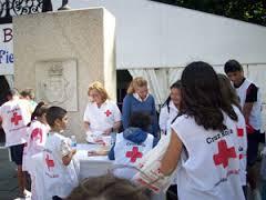 Voluntarios de Cruz Roja. Foto i-bejar.com