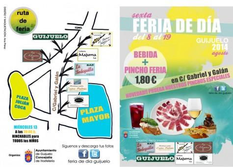 Cartel Feria de Día de Guijuelo 2014