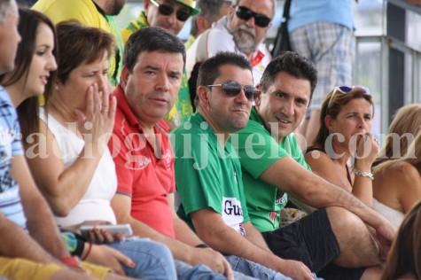 Aficionados en el Municipal de Guijuelo. Foto archivo.