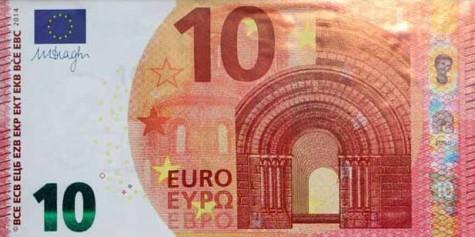 Billlete nuevo de 10 euros