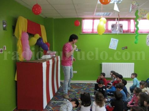 Niños en la Ludoteca Ludoguay. Foto archivo.