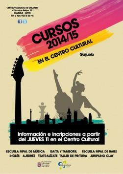 Cursos Cultura 2014-2015