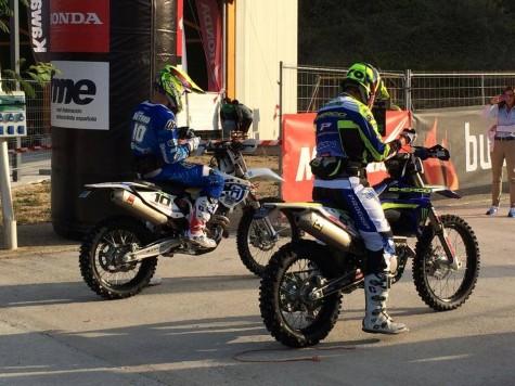 Lorenso Santolino en la salida de Larrión. Foto Facebook Lorenzo Santolino