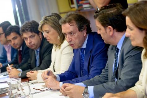 Reunión del Consejo de Cooperación Local de Castilla y León. Foto Junta CyL