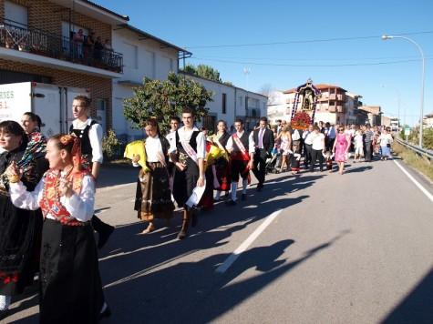 Actos festivos en Sorihuela. Foto archivo.