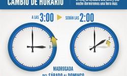 Cambio de hora. Foto europapress.es