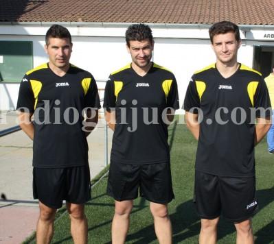 Cuerpo técnico del CD Guijuelo, Funes, Estévez y Padilla