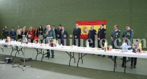 Fiesta de la Guardia Civil en Guijuelo. Foto archivo.