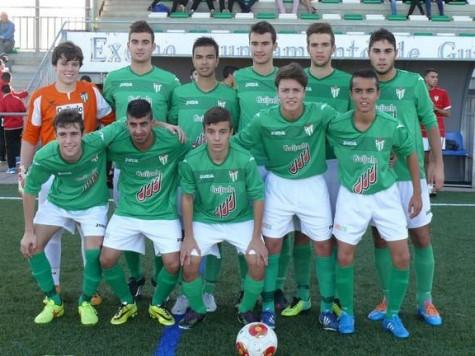 Once inicial del equipo juvenil