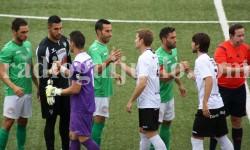 Partido entre el CD Guijuelo y el Burgos CF. Foto archivo.