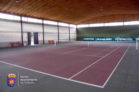 Pista cubierta de tenis de Guijuelo.
