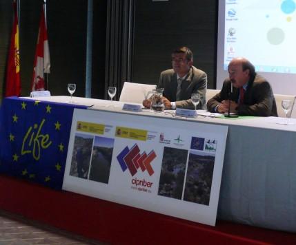 Presentación del proyecto CIPRÍBER. Foto Junta CyL
