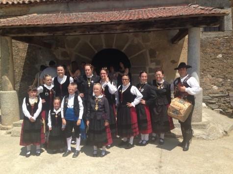 El grupo El Torreón en Palacios. Foto archivo.