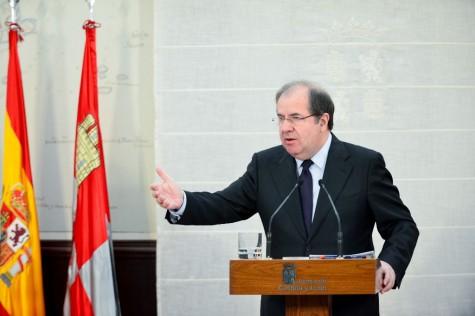 El presidente de la Junta, Juan Vicente Herrera. Foto Junta CyL.