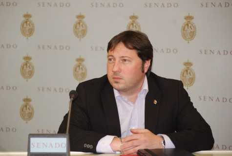 El senador Rubén Amores. Foto PSOE Salamanca.