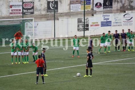 Encuentro entre el CD Guijuelo y el Real Valladolid B.