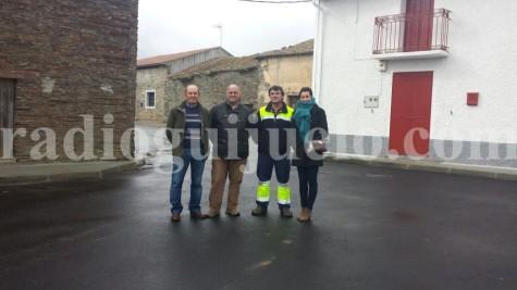 Inaguración de la calle Constitución Española en Palacios de Salvatierra