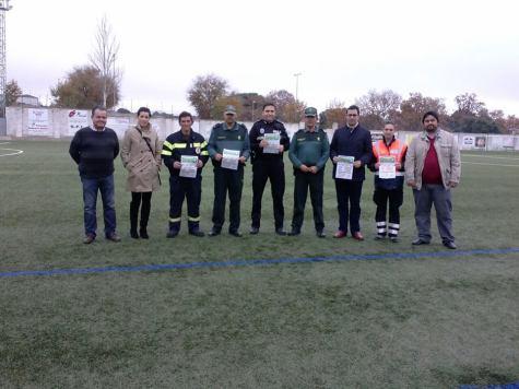 Presentaciíon del partido solidario a favor de la Sonrisa de Alejandro