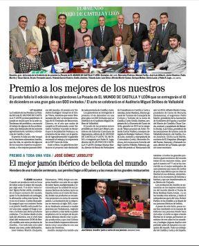 Publicación de El Mundo.