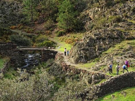 Ruta por la Comarca. Foto Club alpino de Guijuelo.