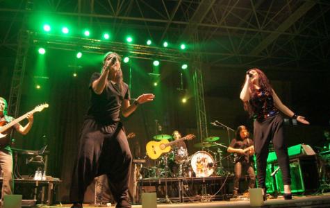 Concierto de Camela en Guijuelo. Foto Salamanca24horas.