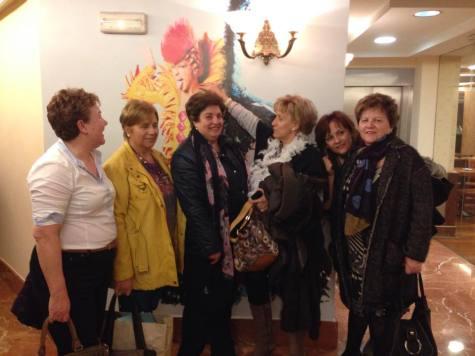 Integrantes de la Asociación Arte y Tradición Charra