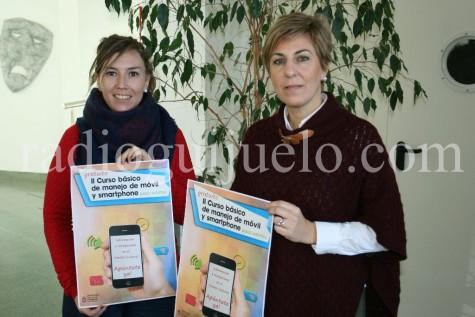 Presentación del II curso de móviles para mayores.