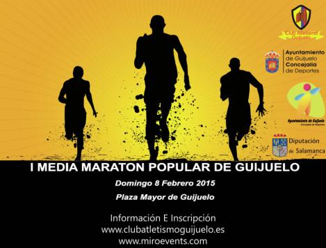 I Media Maratón de Guijuelo.