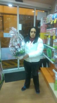 Ana Maria Saez ganadero de la cesta situada en Centrotex