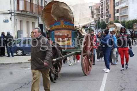 Blas Rodríguez junto a los Arrieros