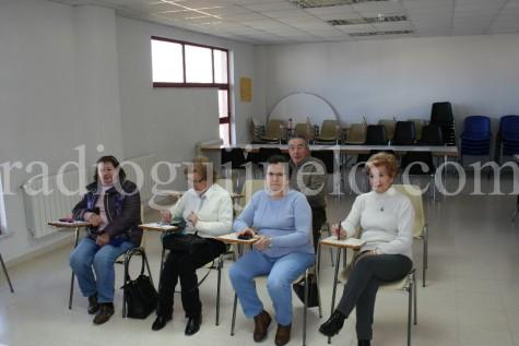 Un gurpo del curso de móviles en Guijuelo.