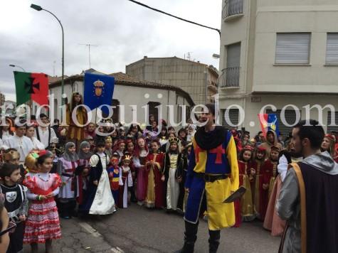 Desfile infantil.