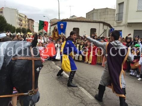 Desfile medieval en Guijuelo.