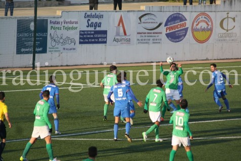 Partido entre el CD Guijuelo y el Real Oviedo.