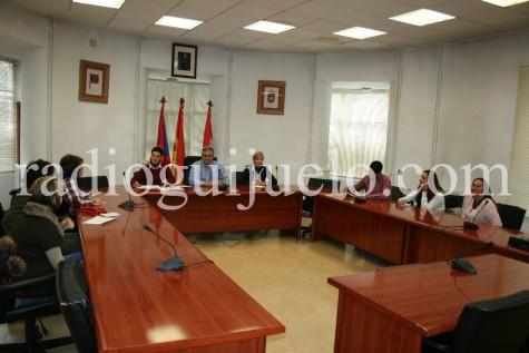 Reunión de los directores y AMPAS de los colegios de la Villa con respresentantes del Ayuntamiento de Guijuelo.