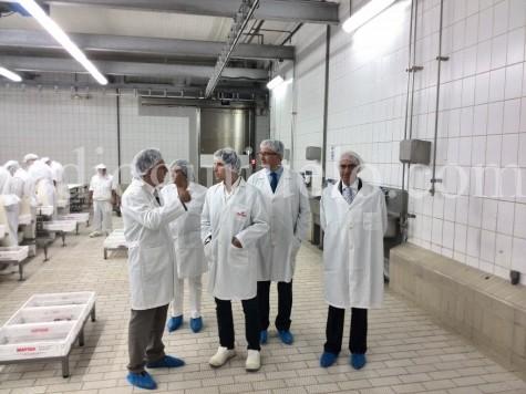 Visita Institucional a la empresa Calderón y Ramos. Foto archivo.