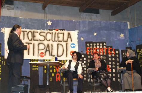 Actuación del grupo 'El Risco'. Foto salamancartv