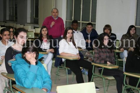 Alumnos del IES Vía de la Plata.