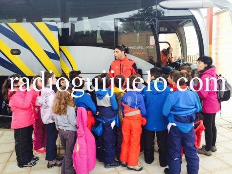 Alumnos del Miguel de Cervantes.