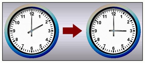 Cambio de hora. Foto hinojosainformación.es