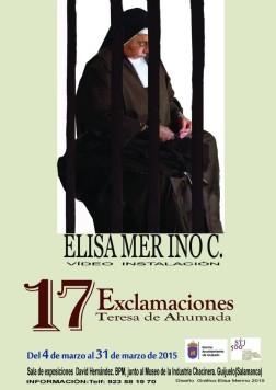 Exposición '17 Exclamaciones. Teresa Ahumada'