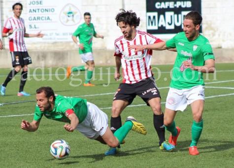 Empate entre el CD Guijuelo y la UD Logroñés en el Municpal.
