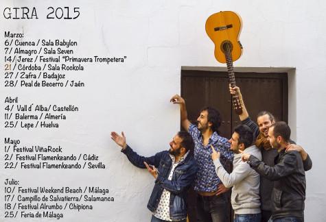 Gira 2015 El Canijo de Jerez.
