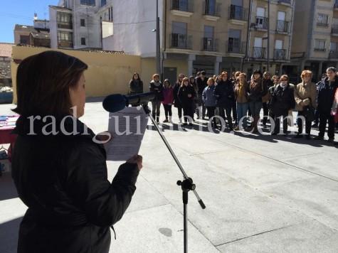 La concejal Rosario Alba en el Día Internacional de la Mujer.