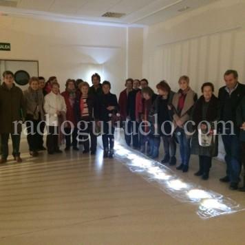 Público asistente a la Exposición '17 Exclamaciones. Teresa Ahumada'